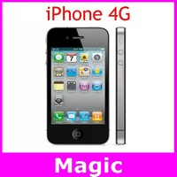 apple iphone 4 phone unlock 32GB 5MP Camera 3.5 inch touch screen 3G Wifi GPS Free shipping Cell Phone