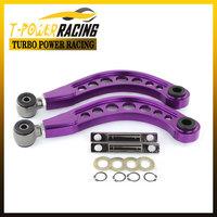 Purple Color Aluminium Car Rear Camber Kits Lower Control Arm Camber Arm Kit for Honda 06-10 Civic DX/LX/EX/SI FG2 FD