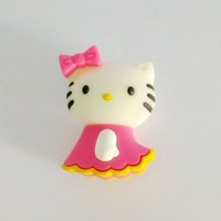 Fast ship 4gb 8gb 16gb 32gb cartoon pink Cat Hellokitty in skirt USB 2.0 flash drive memory pen disk Drop ship dropshipping