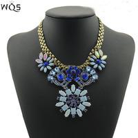 2014 Newest Gorgeous Brand Necklace Jewelry Brunet Department Statement Necklace Women Choker Necklaces & Pendants