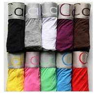4 pieces/lots  Sexy  Modal and Cotton Men's Underwear Boxers Underwear Boxer Shorts Mens Wholesale Fashion Short can mix colors