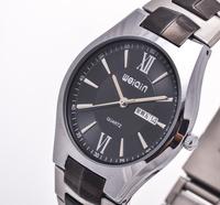 Hot Sale! WEIQIN Brand New Luxury Men's Business Fashion Watches, Automatic Date, Men's Waterproof All-Steel Quartz Watch
