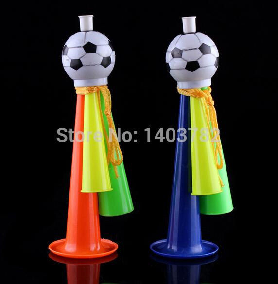 Free shipping world cup 2014 souvenir Large football horn supplies VUVUZELA fans/cheerleaders use football trumpet loudspeaker(China (Mainland))