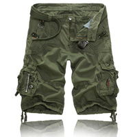 Hot sale free shipping loose men cargo shorts man casual shorts large size 29-38 BK311