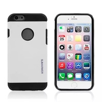 100pcs/lot New Thin Armor Hard Silicone Cover Case For iphone 6G New Arrive 4.7'' For iphone 6 Hard Silicone Case