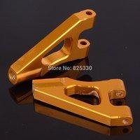 HSP 02140 Upgrade Parts RC 1/10 Aluminum Front Upper Suspension Arm 122018 Gold