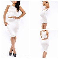 Dream Kai sexy fashion explosion models of large white aliexpress fashion sexy net color set of two YH6065