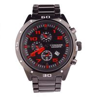 Hot Sale Curren Brand Men's Watch, Stainless Steel Band, A Man's Business Calendar Watch