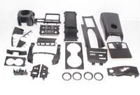 fit for Nissan GTR R35 interior decoration trim Dry carbon fiber