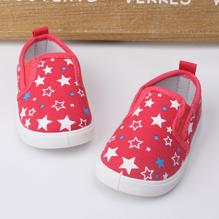Fall 2014 new child canvas shoes manufacturer wholesale kids shoes stars baby shoes(China (Mainland))