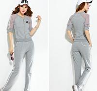 Autumn style hot sale women clothing set brand comfortable tracksuits,women's track suits sport suit female blusinhas femininas
