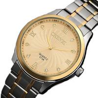 New Fashion 2014 Men Quartz Full Steel Dress Business Men Luxury Brand Gold Watch Quartz Wristwatch Waterproof relogio masculino