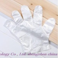 Free shipping! Wholesale high quality health pe transparent film disposable gloves * 100