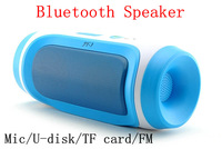 New JY-3 Portable Wireless Bluetooth Speaker Support U-disck and TF card with FM and Mic Outdoor Speaker for all phone 50PCS