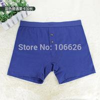 #B01 men sexy underwear lingerie cotton pure color middle waist U bag sports running gym boxer shorts trunk