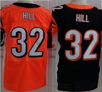 Factory direct sale top quality 2014 new mens American football jerseys Cincinnati 32 Jeremy Hill Elite Stitched Jersey