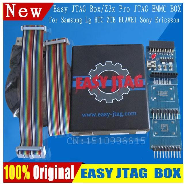 Легко jtag z3x easyjtag z3x pro jtag коробка с emmc адаптер 2-в-1 ( jtag