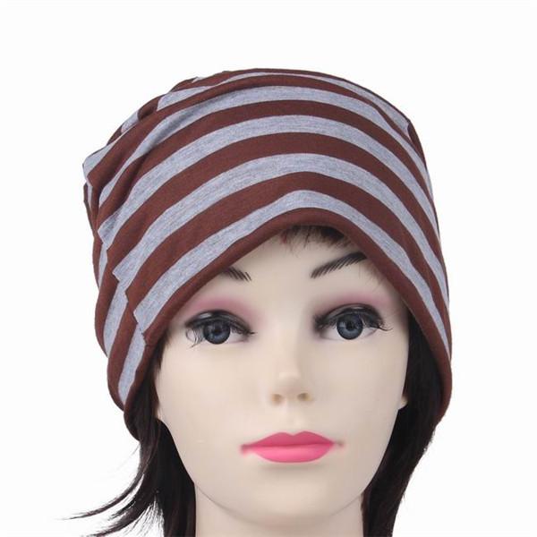 Beanie Skull Hats Hats Striped Beanie Skull
