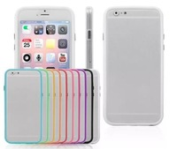 """Case for Apple iPhone 6 4.7"""" Ultra Thin Transparent Crystal Clear Hard TPU Frame Case Cover"""