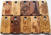 Genuine Real Natural Wood Bamboo Wooden Case Cover For Samsung Galaxy Note 3 III N9000