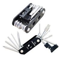 Bicycle 14 in 1 multi-function folding tool riding bike repair tools versatile tool