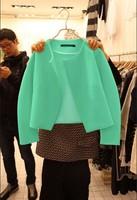 The latest autumn jacket lady long sleeved slim slim delicate short coat dress