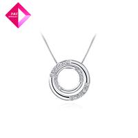 D&Z Platinum Necklace bicyclic Fashion necklace series