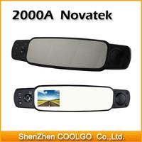 2000A 1080P Full HD Car Rearview Mirror Camera Recorder DVR 120 Degree with G-sensor Registrar Rear View Car Camera