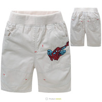 Top quality 2014 summer boys shorts for kids pants cotton boys casual shorts spiderman autumn clothing for children accessories