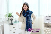 Hot Sell Sweet Heart Printed Fashion Muffler