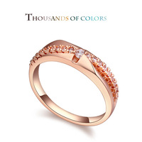 During the summer of 2014 new AAA level micro inlaid CZ rings - the eternal love fashion ring jewelry wholesale