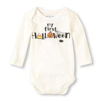 2014 New Pla*e Baby bodysuits, Long Sleeve halloween  bodysuits Infant bodysuits Baby Outerwear 0-18M little talker bodysuits