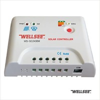 Wellsee remote solar controller high quality & performance WS-SC2430M 20A