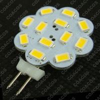 Lot 50pcs 8V - 30V AC DC 12 x 5630SMD G4 LED Light Bulb Cabinet LED light