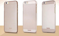 Brand New Metal Gold Silver Protectivce Case Cover for iPhone 6 Good quality SilmProtective coer 4 apple 6  4 colors