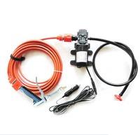 2014 new Car electric 60w high pressure car washer portable high pressure car wash pump 12v trainborn