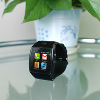 U Watch Upro SmartWatch sync Bluetooth 1.55 Lps Screen Support sim card portuguese watch low price
