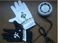 New Electronic Piano Hand Gloves Exercise Keyboard Music Toys Free Shipping + Drop Shipping