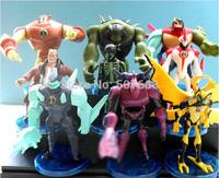 10sets/lot Fashion Anime Cartoon Ben10 PVC Action Figure Toys Dolls 10pcs/set Child Toys Approx 12cm