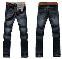 2014 Fashion Men Brand Jeans,Black/Blue Slim Elasticity Pants,Casual New Designer Brand Trousers