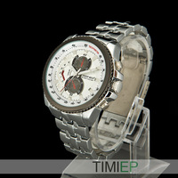 NEW 2014 Mens Quartz Watch Mens Military Watches Stainless Steel Watch Wholesale