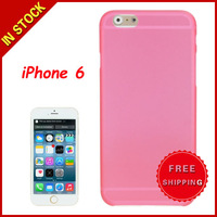 0.3mm Ultra-thin Polycarbonate Material PC Protection Shell for iPhone 6 Transparent Version / Matte Edition