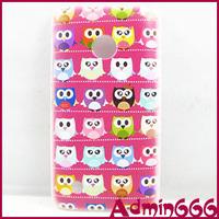 New Fashion Colorful Owl And Purple Bird Hard Case Cover Skin For Nokia Lumia 530