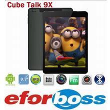 Best Price Cube Talk 9X U65GT MT8392 Octa Core 2.0GHz Tablet PC 9.7 inch 3G Phone Call 2048x1536 IPS 8.0MP Camera 2GB/32GB(China (Mainland))
