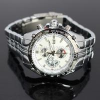 100%Original CURREN Calendar Date Display Clock Black Dial Sport Quartz Men Full Steel Wristwatch Male Fashion Men Casual Watch
