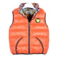 girls winter Vest Children autumn Outerwear Kids stripe Vest Girl Cool Coat Girl Soft Waistcoat a-071