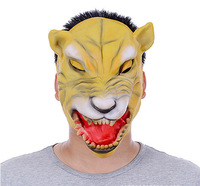 Free shipping Terror Halloween mask party Werewolf  gold face All saints mask wholesale