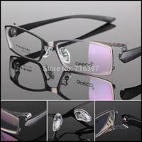 2015 I-bright 5 Colors Men's Business Alloy Myopia Glasses Frame Optical Prescription Eyeglasses Full/Half Frame Eyewear