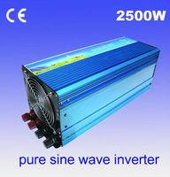 2500w inverter DC 12v/24v/12V to AC220V/240v Pure sine wave power inverters 2500w