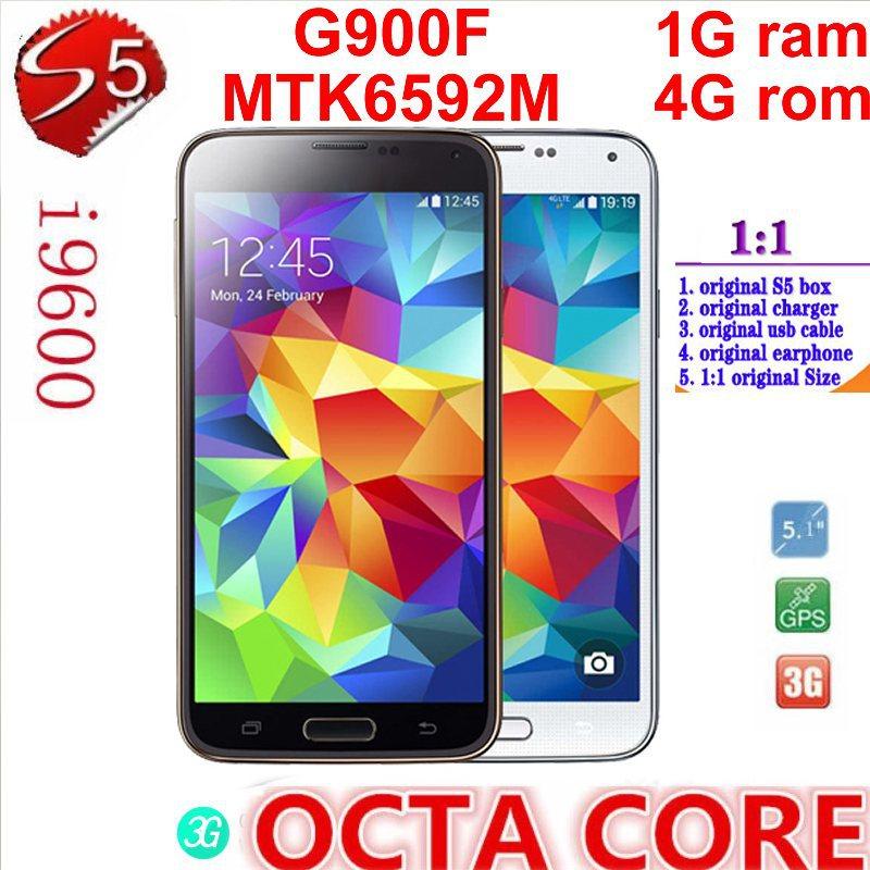 "off33 air gesture Waterproof Fingerprint Heart Rate 5.1"" S5 SM-G900 Phone MTK6592 Octa Core 1gB Ram 8MP pixels DHL Free Shippin(China (Mainland))"